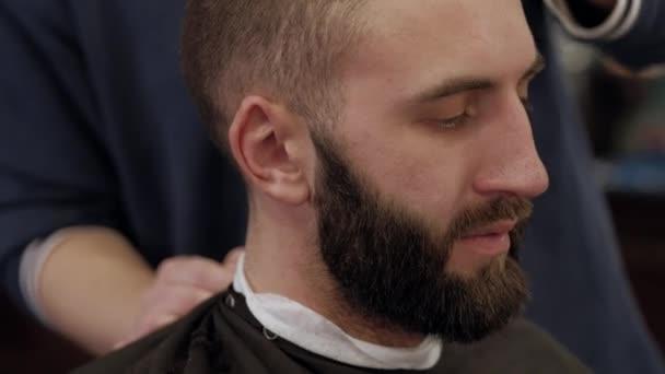 man in barbershop