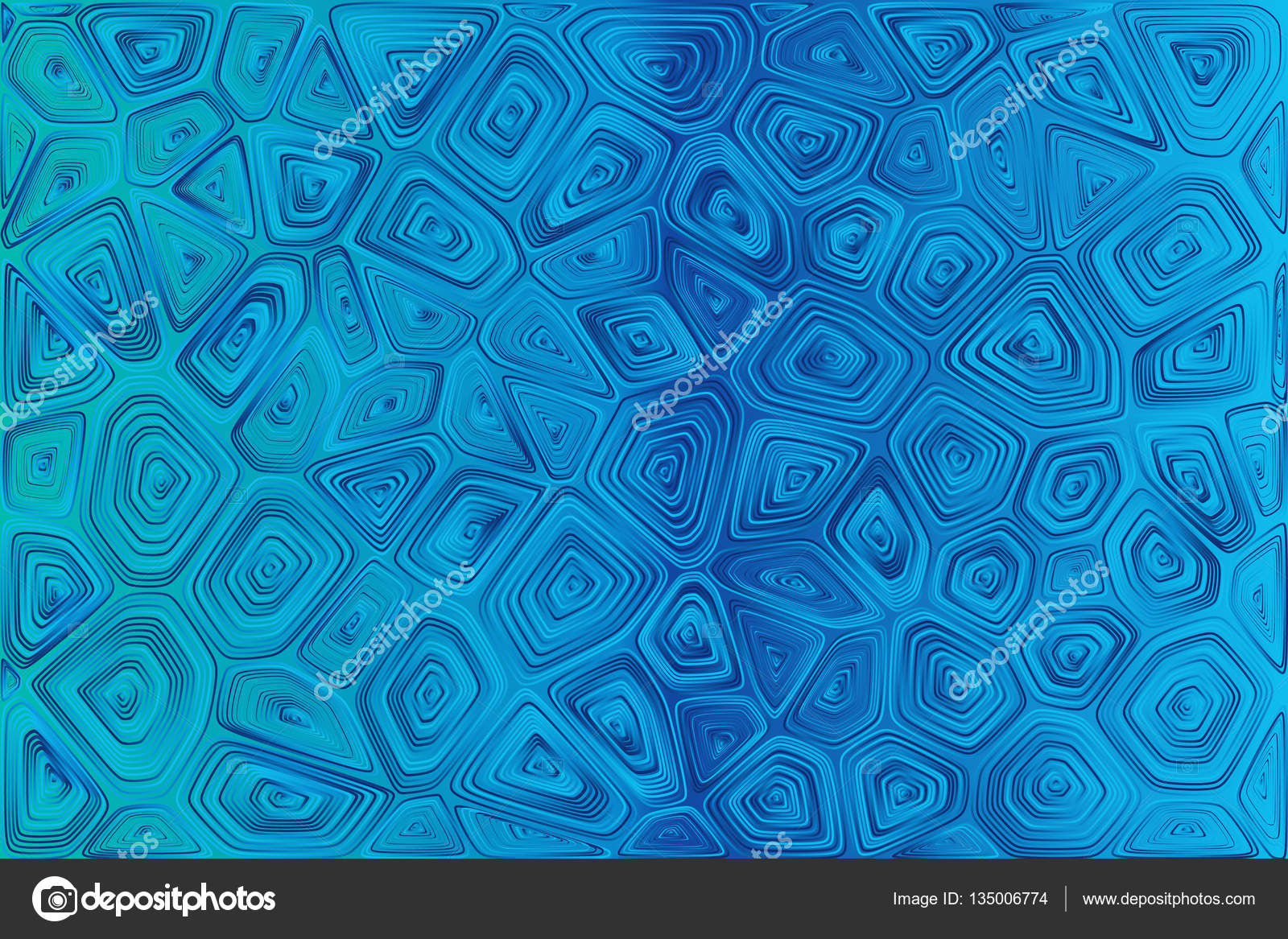 Abstract tile composition with ceramic geometric shapes — Stock ...
