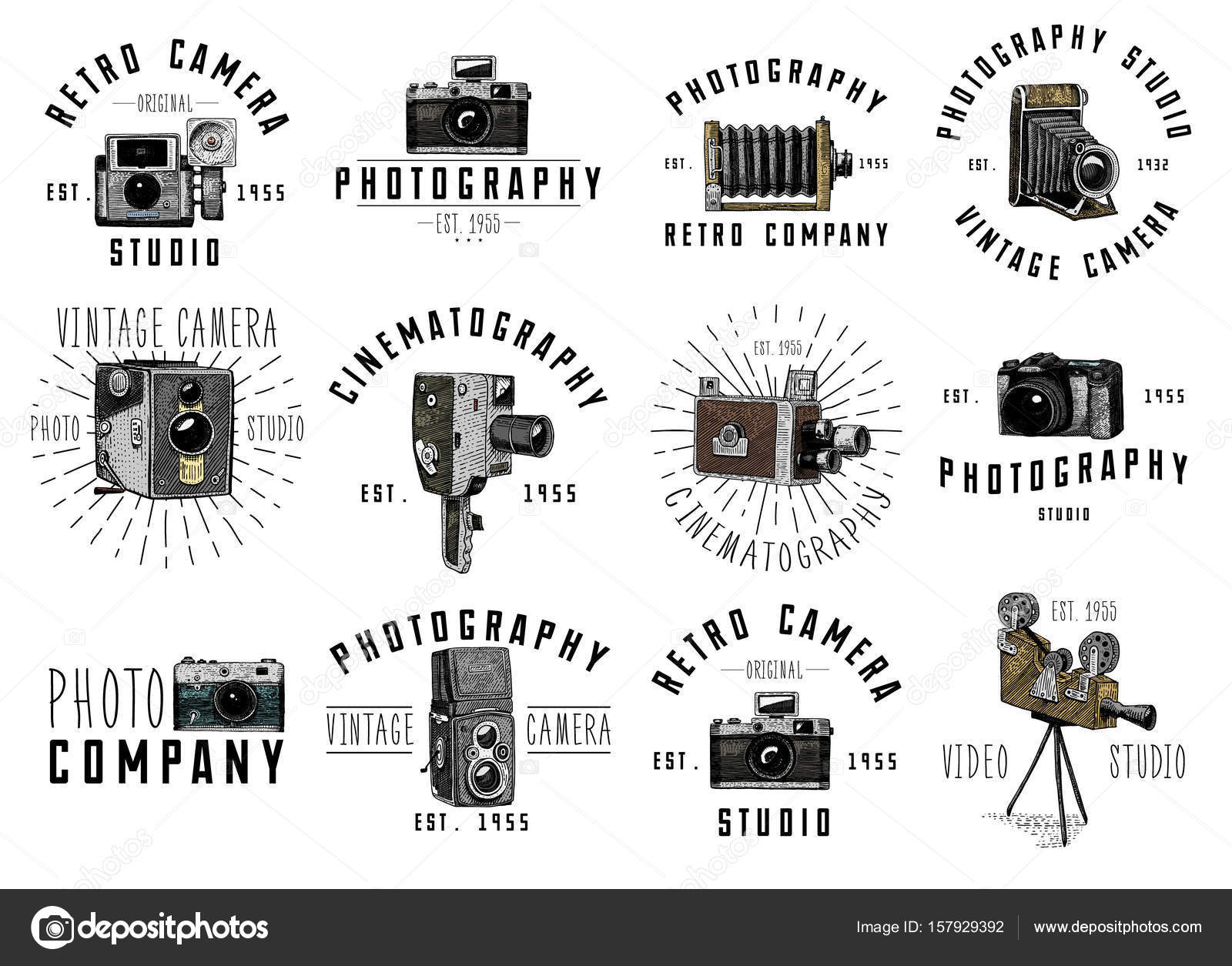 Photo Logo Emblem Or Label Video Film Movie Camera From First Circuit Diagram Till Now