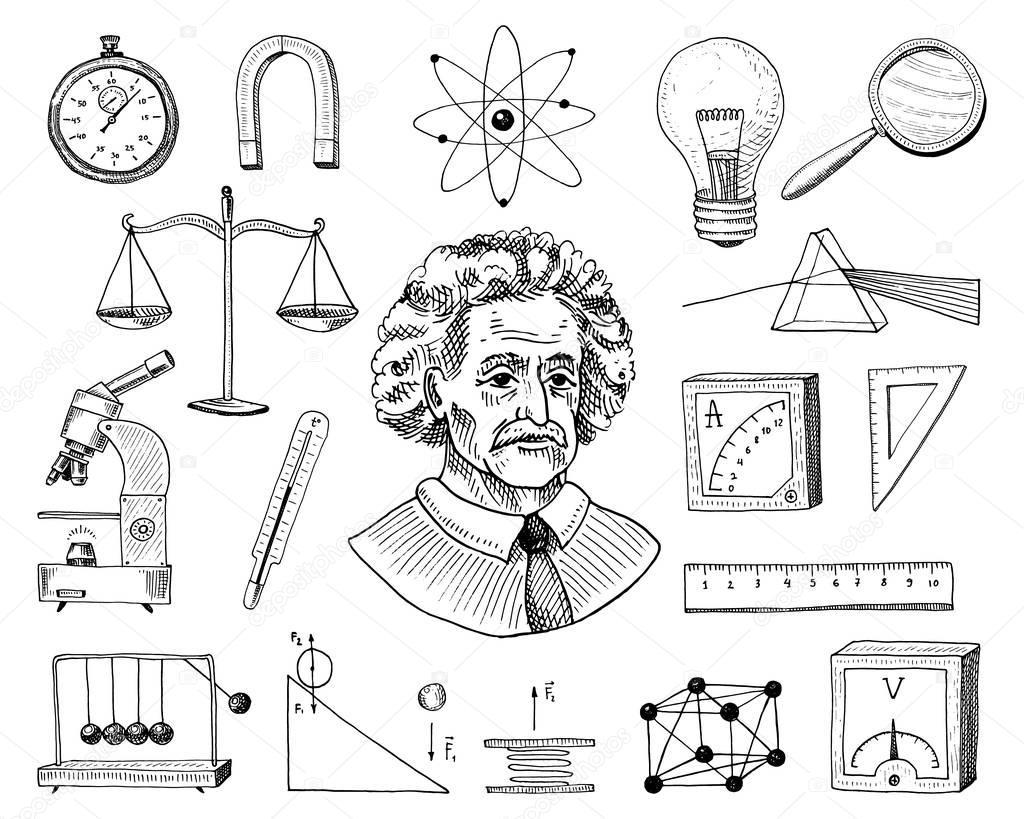 Физика в картинках обучающие рисунки по физике, дню рождения комсомола