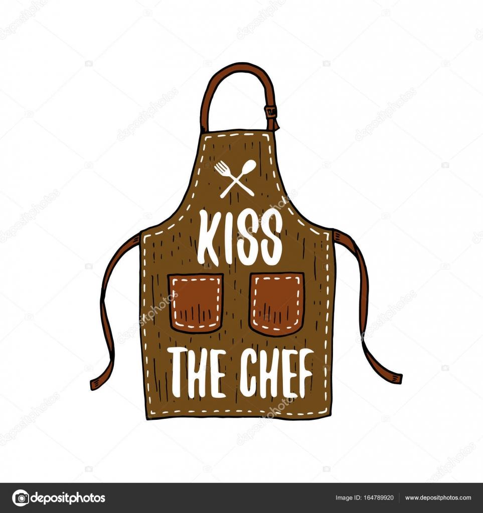 Delantal O Cocina Utensilios, Cocinar Cosas Para La