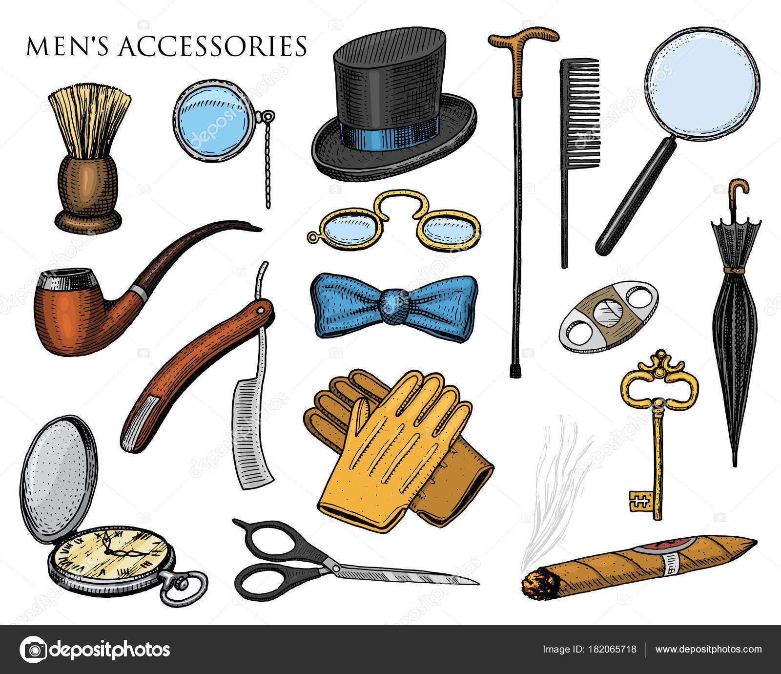 a8f03c59be1 Accesorios para caballero. hipster o empresario, era de victorian ...
