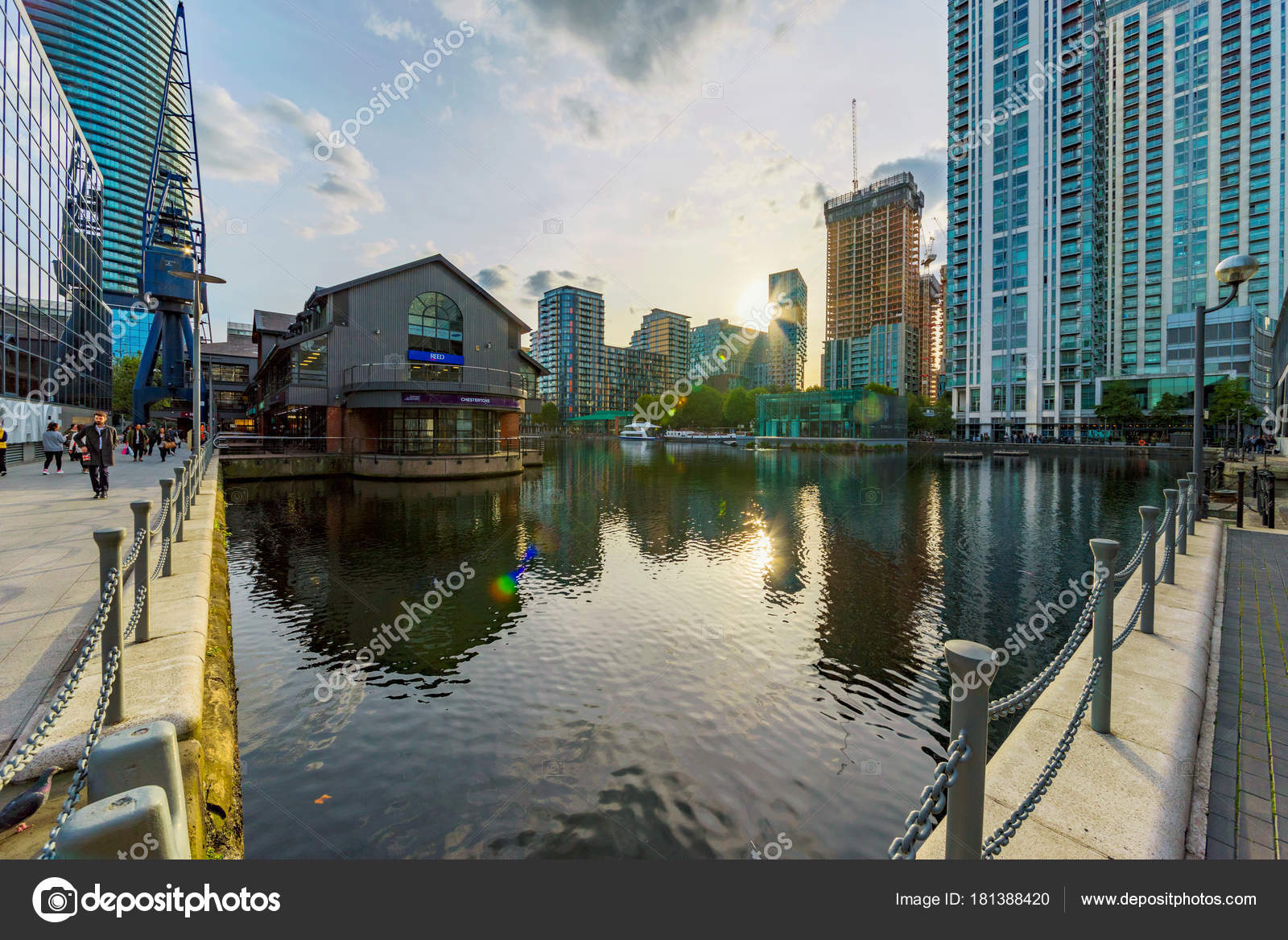 South Quay Architecture Stock Editorial Photo C Asiastock 181388420