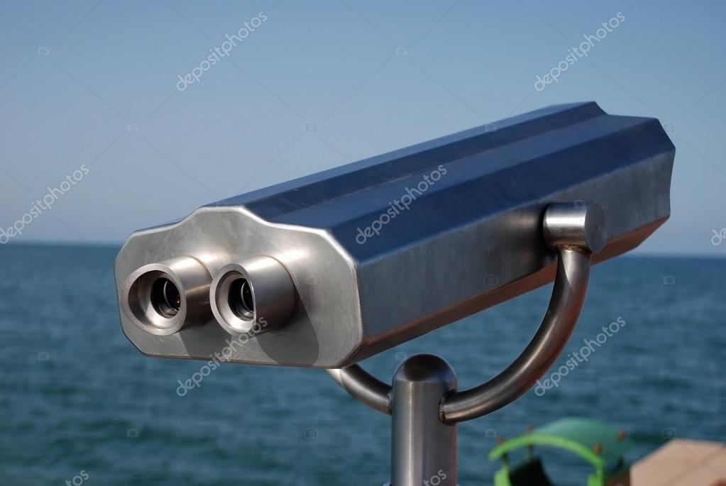 Marine fernglas für touristen u stockfoto melekkalyoncu