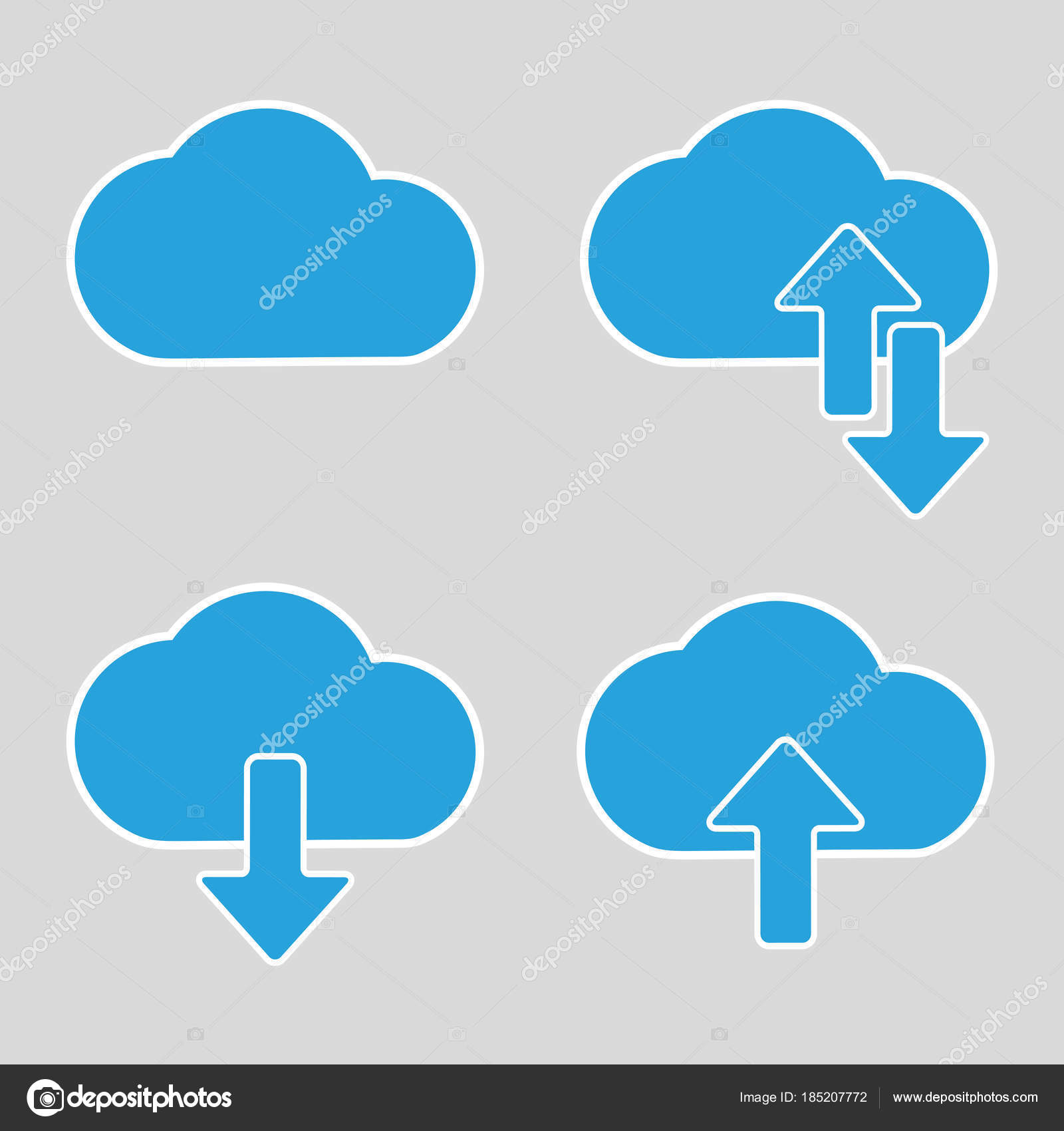 cloud graphic design vector illustration gray background stock rh depositphotos com cloud graphic png cloud graphic images