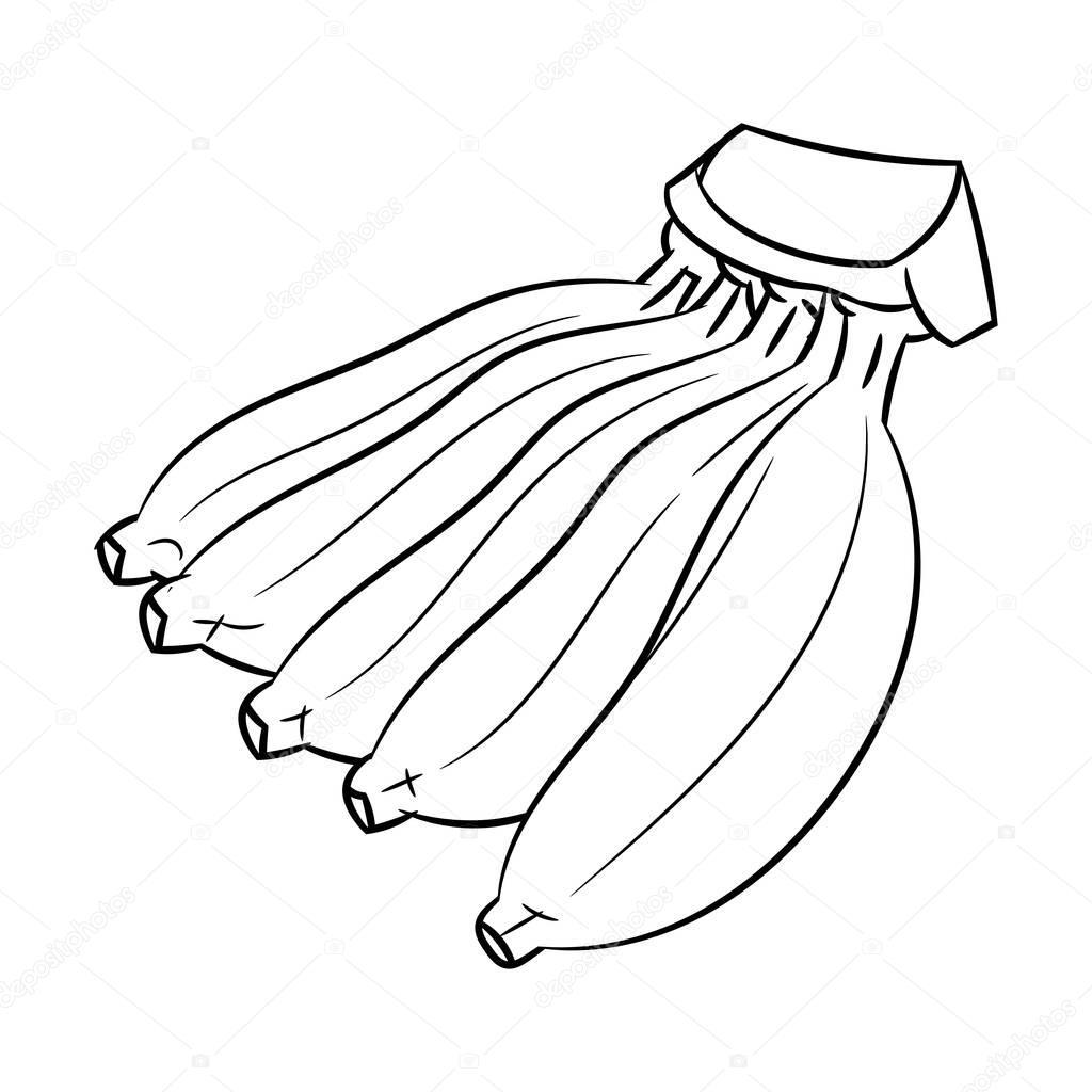 Imágenes Bananos Animados Para Colorear Dibujo De Banana