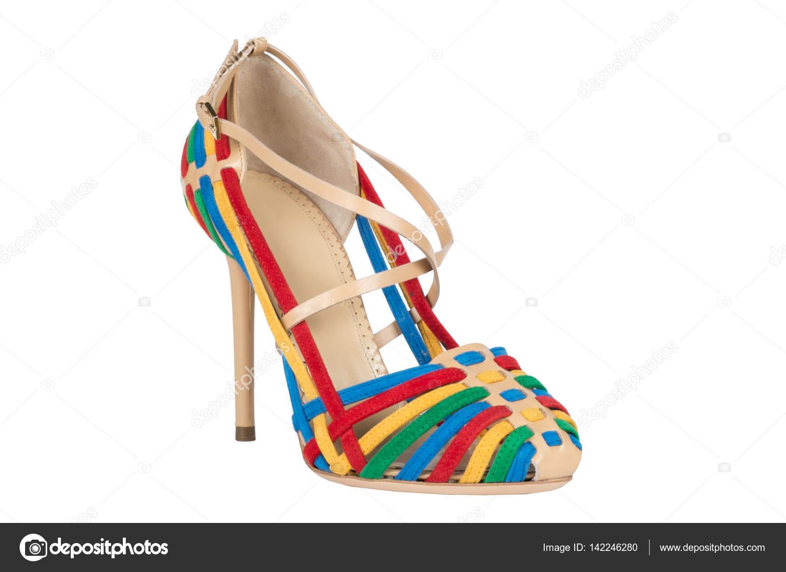 7f139844 Zapatos. Zapatos de mujer sobre un fondo blanco. calzado Premium. Zapatos  italianos marca