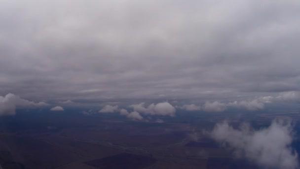 Flying under Cumulus clouds