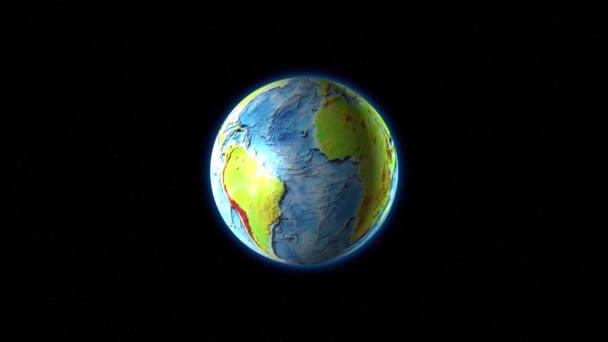 Mraky nad vyraženými kontinenty