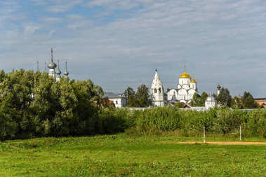 Ancient Church in Suzdal. The