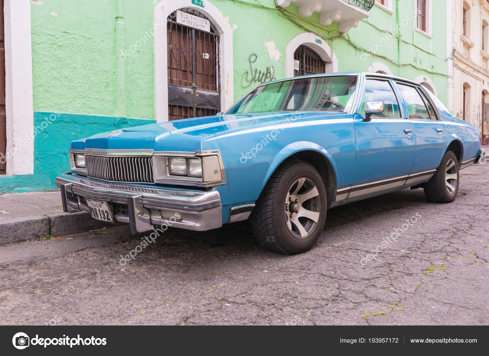 old 1980 Chevrolet car Quito – Stock Editorial Photo ...