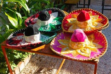 Argentina Cordoba Mexican colored sombreros