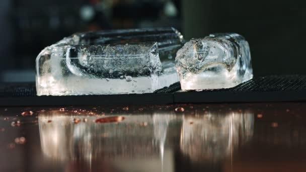 Lassú folyamat jég bar counter háttér csinos.