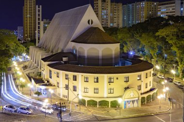 Church on downtown of Londrina