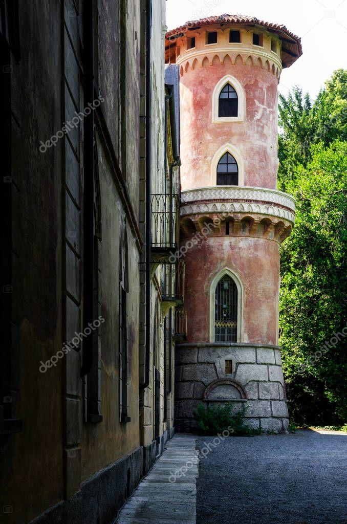 Castle of Miradolo, Italy