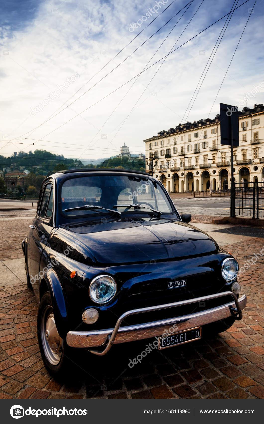Fiat 500 Abarth Classic Car In Turin Stock Editorial Photo