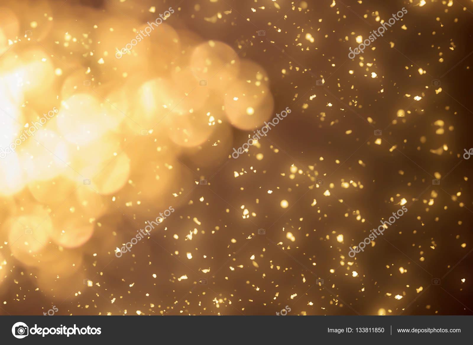 Magic Gold funkelt. Weihnachten Hintergrund — Stockfoto ...