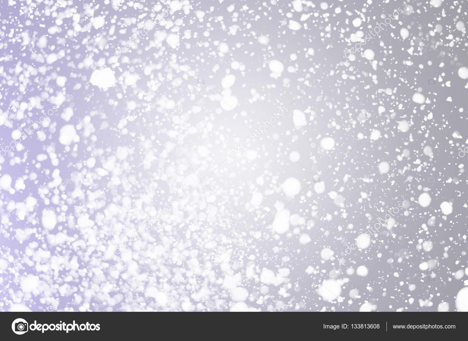 Fiocchi Di Neve Di Carta Modelli : Fiocchi di neve bokeh o glitter fondo argento festivo delle luci