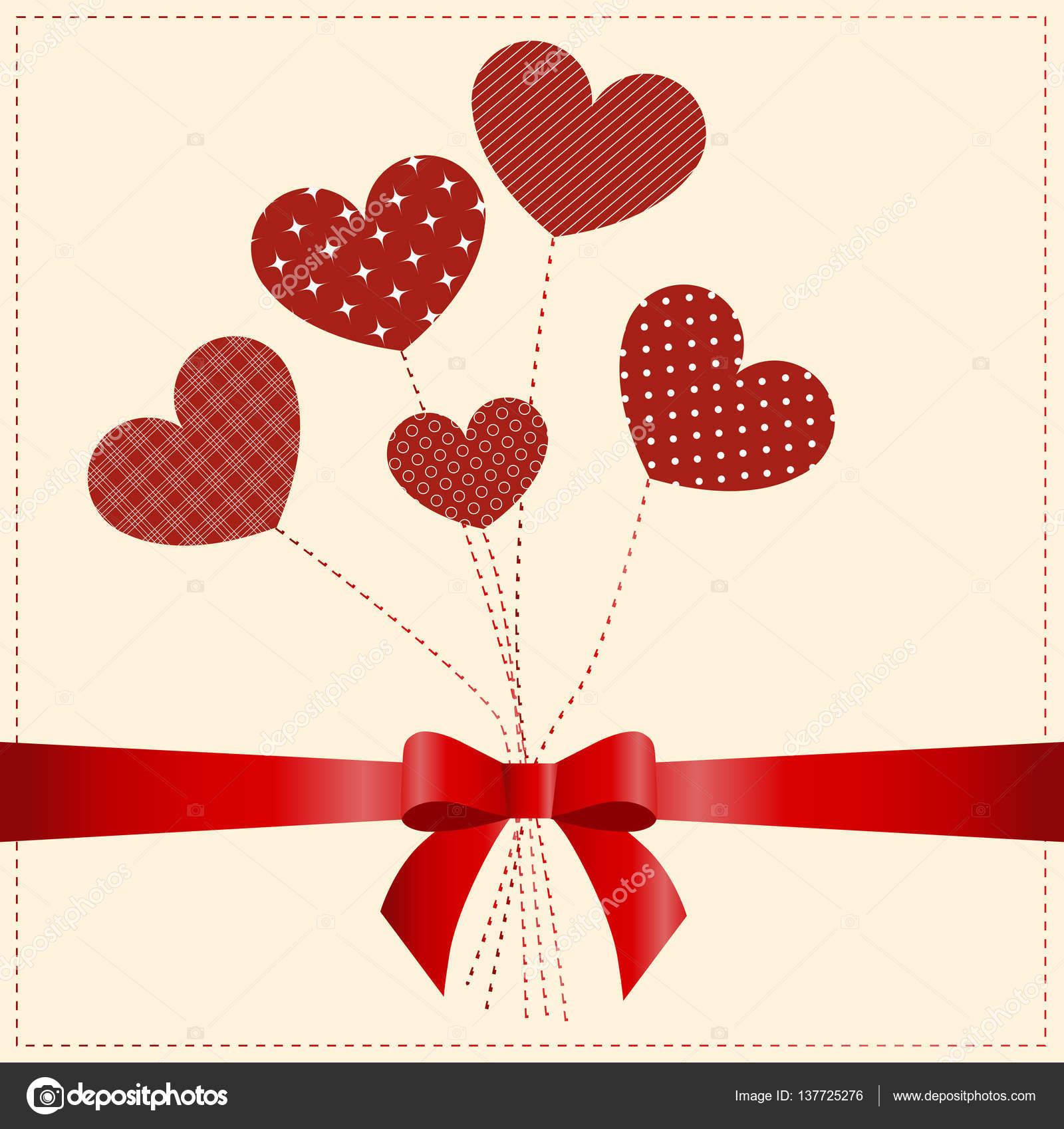 Zaawansowane day.five piękne kartki z życzeniami Szczęśliwego Walentynki serca YL46