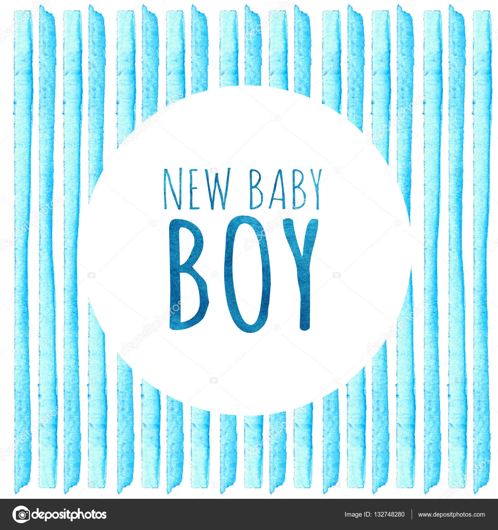 New baby boy watercolor creative greeting cards template retro baby shower invitation card its a boy new baby boy baby shower greeting card watercolor creative greeting cards template element design for posters kristyandbryce Images