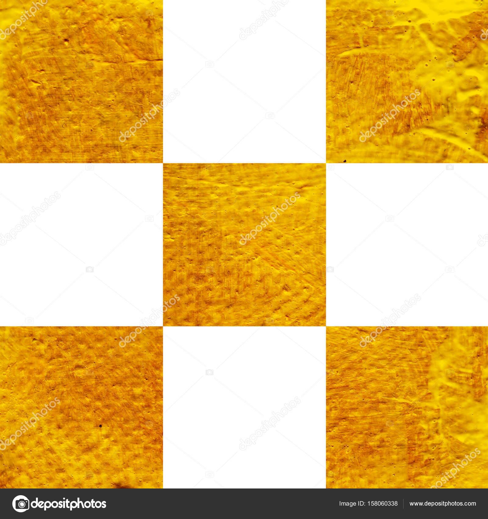Abstrakt Gelb Orange Acryl Hand Farbe Hintergrund Stockfoto K