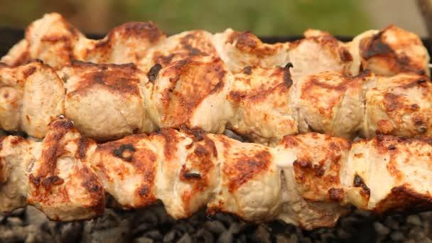 Kebaby na grilu