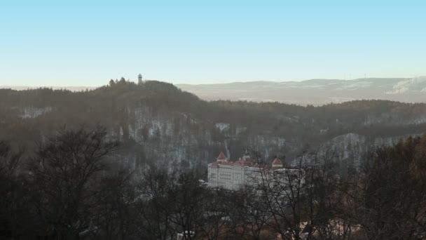 Karlovy Vary, panorama.