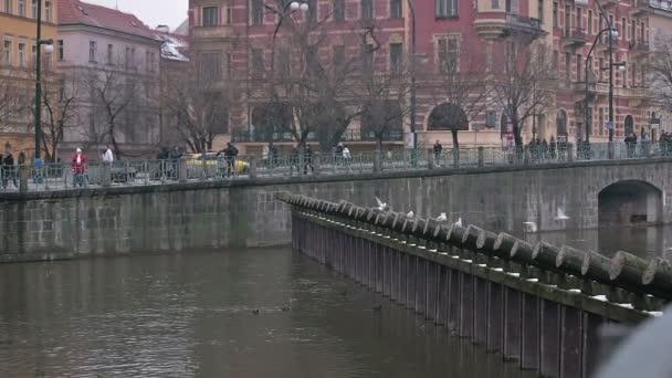 Říční nábřeží Praha
