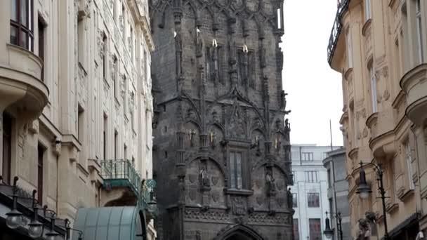 Prague City Tower. Zimní