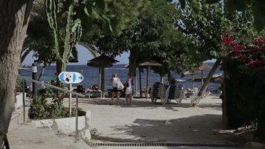 Spanyolországi tengerpartjai, a tartományi városokban Costa den Blanes. Mallorca