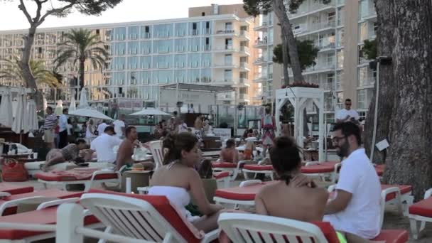 Resort town of Magaluf.