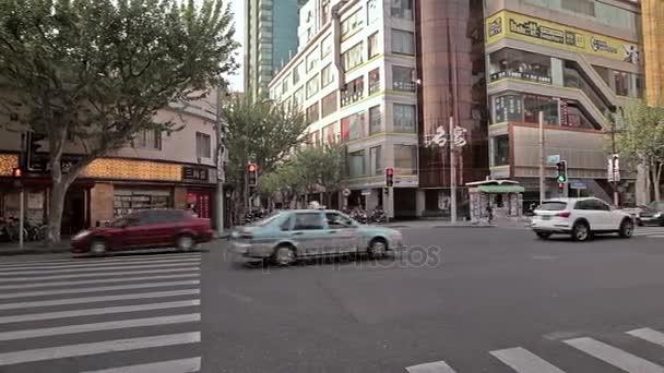 Čínské město Šanghaj.