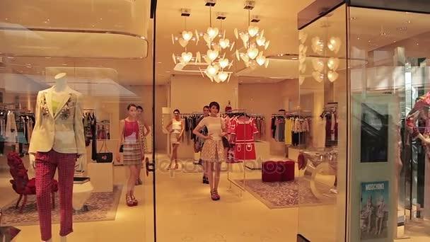 Zobrazení kolekce oblečení