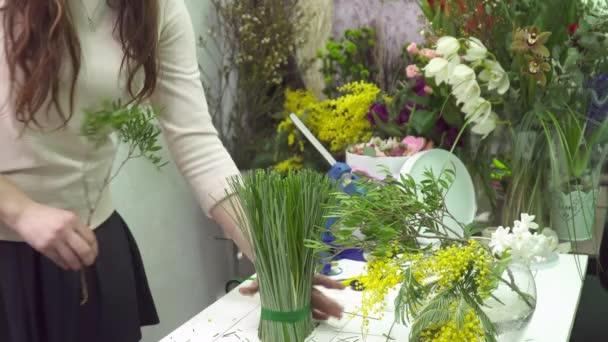 Virágüzlet, hogy illata mimosa