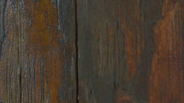 Closeup of a wooden texture, macro