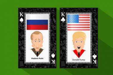 Donald Trump President Putin Vladimir