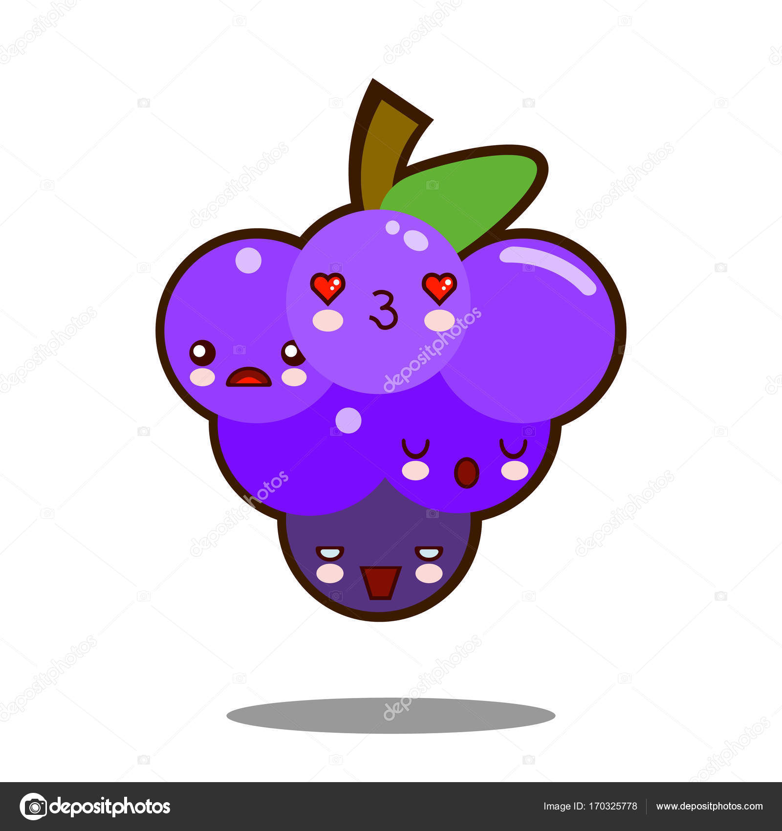 personagem de desenho animado de uvas fotografias personagem de