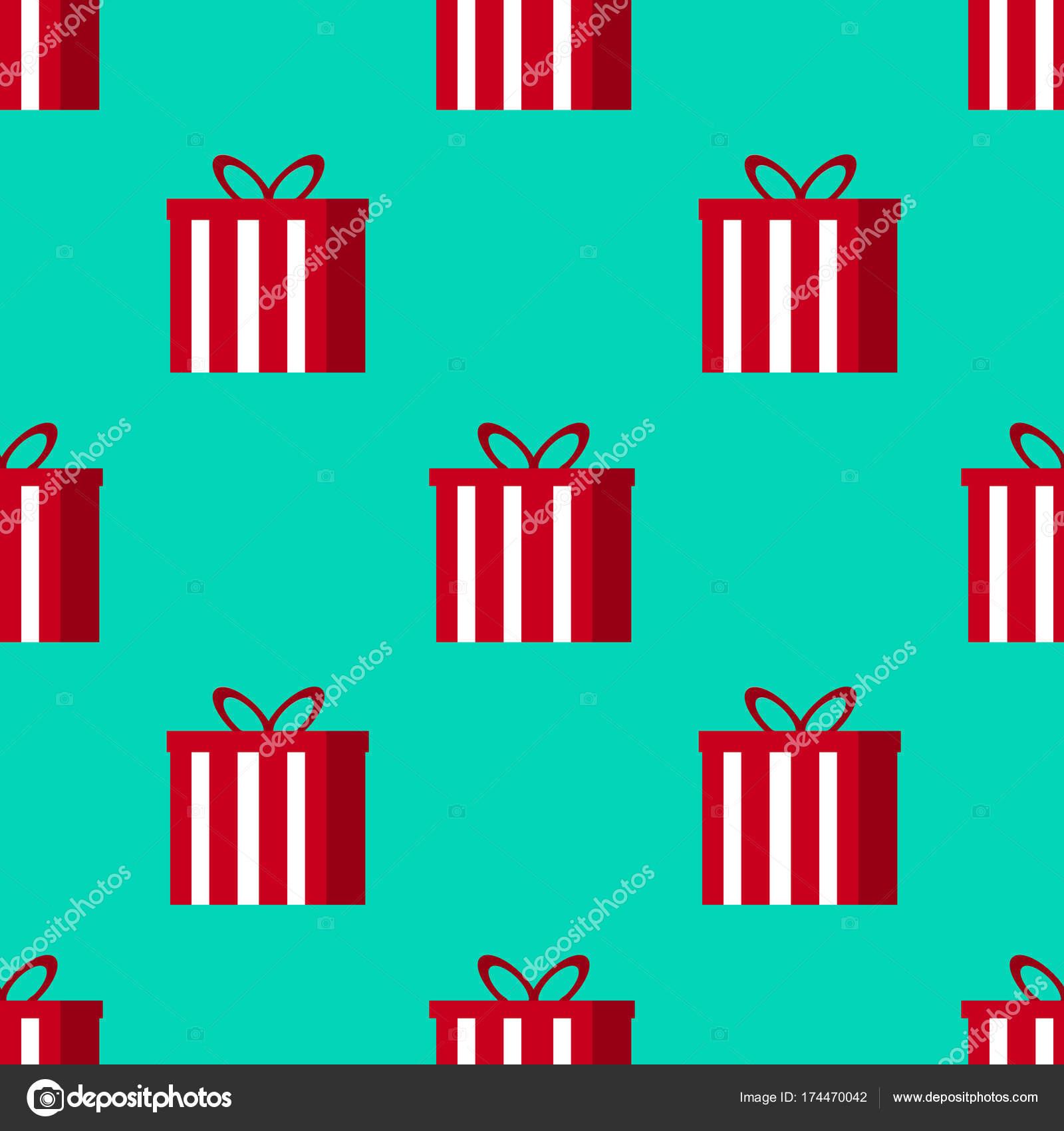 Weihnachtsgeschenke Seamless Pattern - toll für Weihnachten und ...