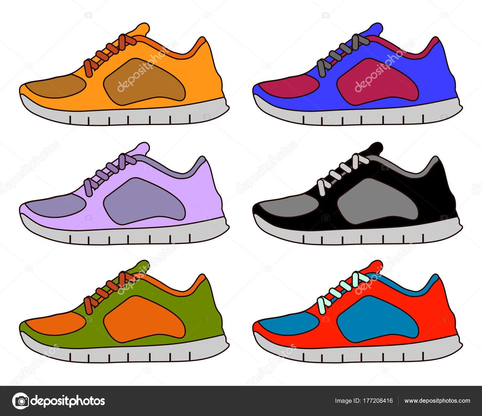 Basket chaussure ligne couleur minime ligne chaussure plate AVC ic?ne pictogramme 8d9cf1