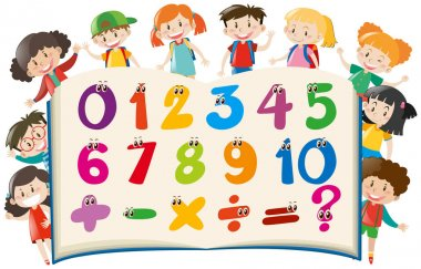 Counting numbers with happy children