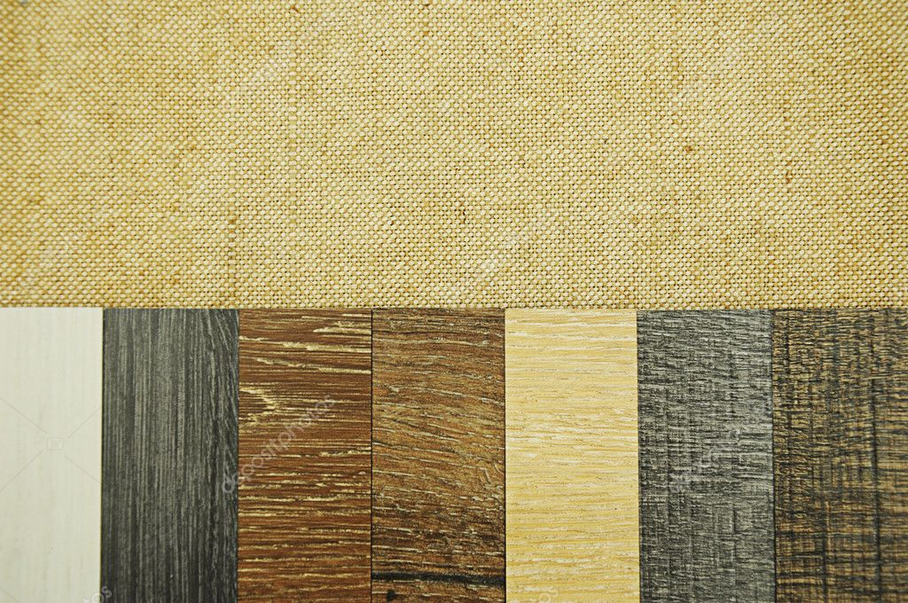 Wood Texture Floor Samples Of Laminate And Vinyl Floor Tile On W U2014 Stock  Photo #