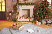 vánoční cukroví a horká čokoláda