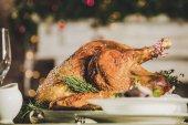 Geröstete Türkei auf Urlaub Tisch