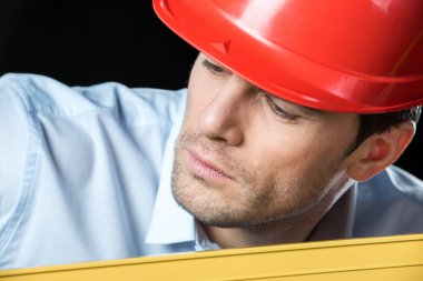 Male engineer in hard hat