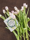 Matek den blahopřání a květiny