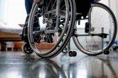 Fotografie Ältere Patienten im Rollstuhl