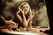 Fotografie žena hospodářství nápoj