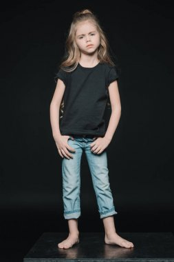 stylish adorable girl