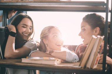 attractive smiling women