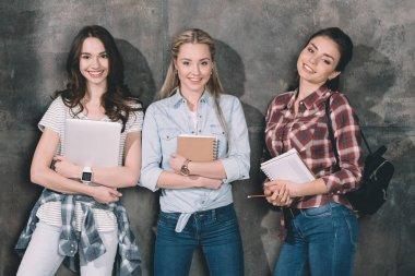 Three attractive students